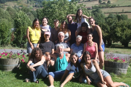 משפחת קמינר, טיול בספרד, 2012