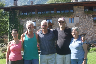 דפנה, נעם, ראובן, מיכה וטלי קמינר. טיול בספרד, 2012