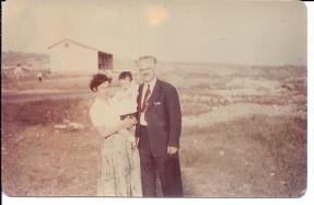 הארי קמינר, דפנה ונעם התינוק, 1955