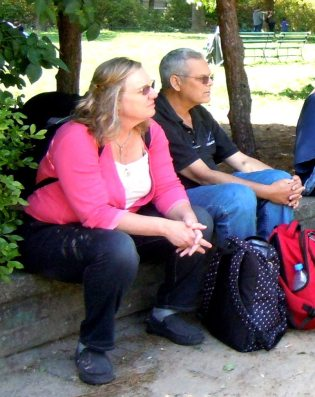 נעם וסלעית, טיול שורשים של משפחת נהב בברלין, 2013
