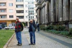 נעם ושאול, טיול שורשים של משפחת נהב בברלין, 2013