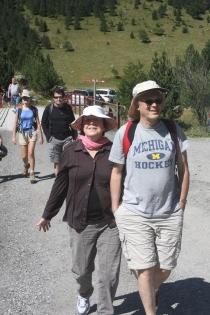 נעם וסמדר, טיול בספרד, 2012
