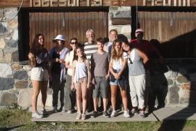 נעם, שלום, מיכה, טלי, סמדר, תאיר, סיביל, נגה, גיא, מיה. טיול בספרד, 2012