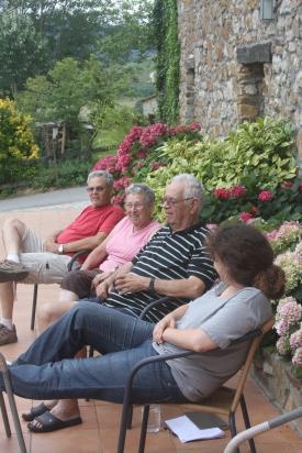 נעם, דפנה, ראובן, כרמל, טיול בספרד, 2012