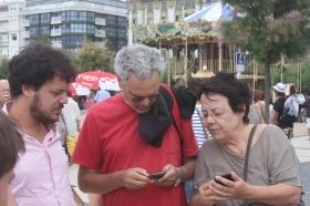 נעם, סמדר ומתן, טיול בספרד, 2012