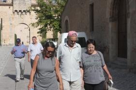 נעם, סמדר וסיביל, טיול בספרד, 2012