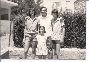 נעם, ראובן, מיכה וטלי, שנות ה70