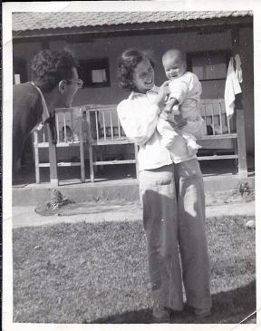 ראובן, דפנה ונעם קמינר, 1953