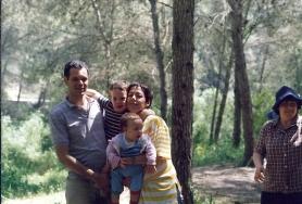 סמדר, מתן, נעם וכרמל קמינר, 1987